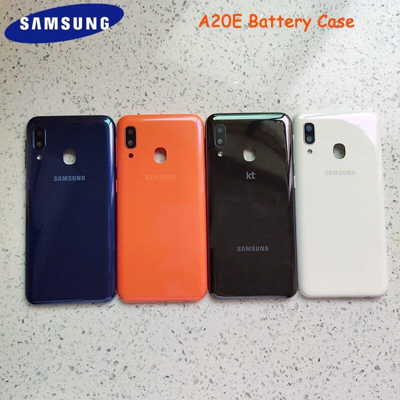 Original Samsung Galaxy A20E funda de batería trasera cubierta de la carcasa de la puerta trasera carcasa de repuesto para Galaxy A20 E funda de teléfono de protección