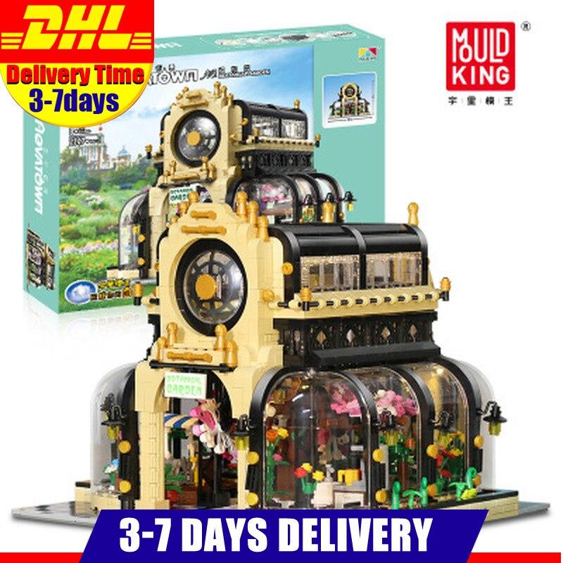 2147 Uds 16019 MOC-26998 creativo Streetview serie botánica Jardín Botánico bloques de construcción niños juguetes regalos niños