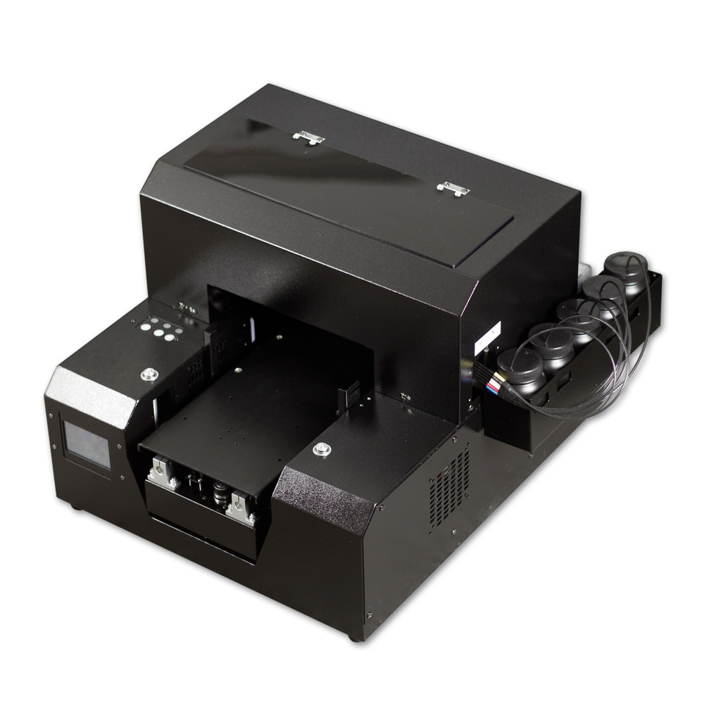 Impresora plana A4 UV aprobada por Ce SGS para bolígrafo, funda de teléfono, vidrio, cerámica, Metal y plástico impresoras en relieve 3D