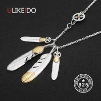 solid 925 sterling silver feather necklace for men vintage charms takahashi eagle pendant eagle chain new popular jewelry p13