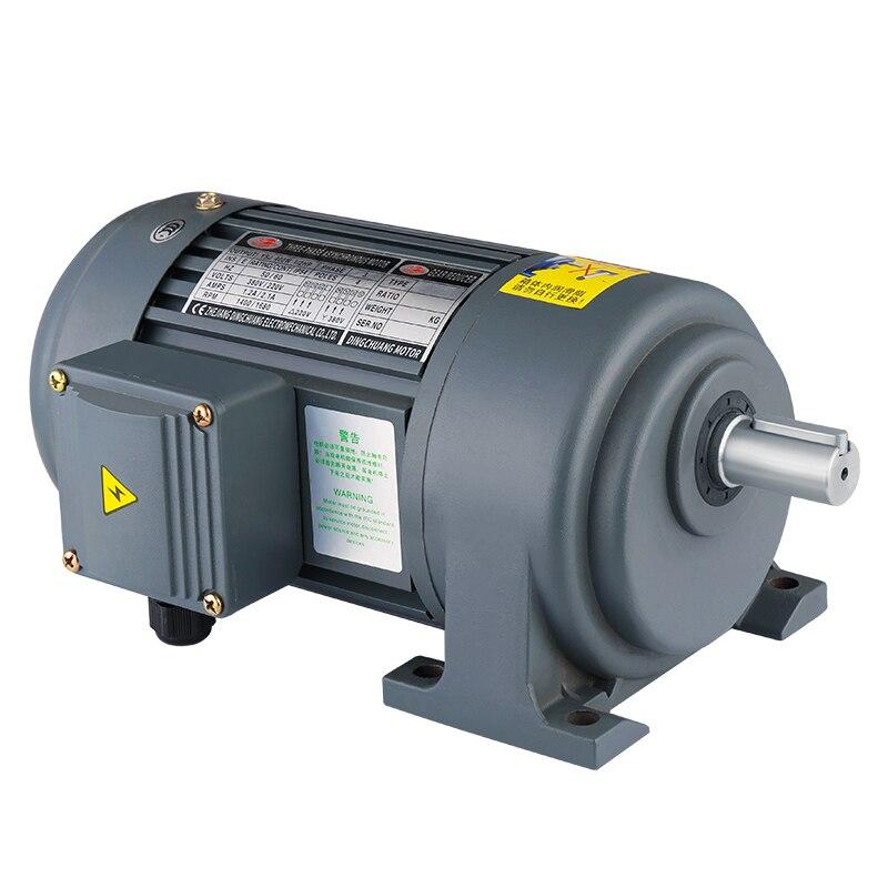 Reductor horizontal de 380V ch/V 200w400w de estado de la ciudad de frecuencia variable 750W AC reductor de engranaje helicoidal vertical 1500W