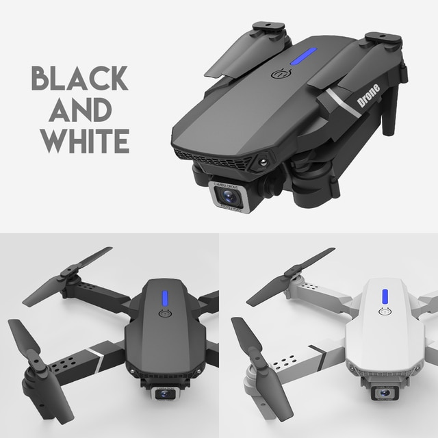 LSRC 2021 New Quadcopter Drone E525 HD 4K 1080P Camera and WiFI 4