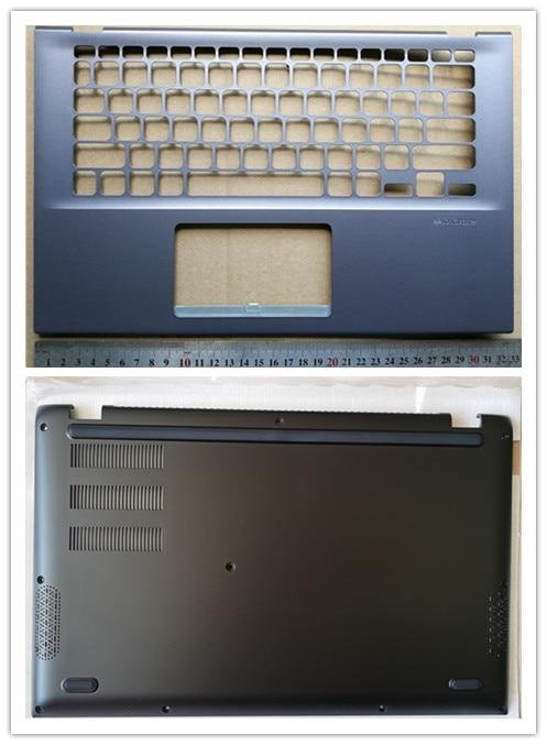 غطاء علوي لجهاز الكمبيوتر المحمول ASUS VivoBook 14 X412US X412FA X412UA ، مسند للمعصم/الحافظة السفلية