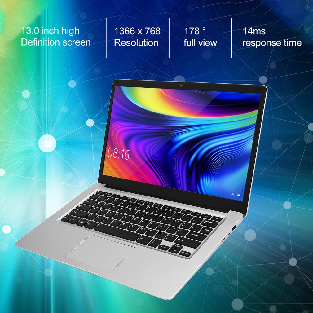 13.3-Inch 3+32GB Four Core Windows 10 Laptop Ips Screen Computer With 4 National Keyboard Films WIFI HDMI enlarge