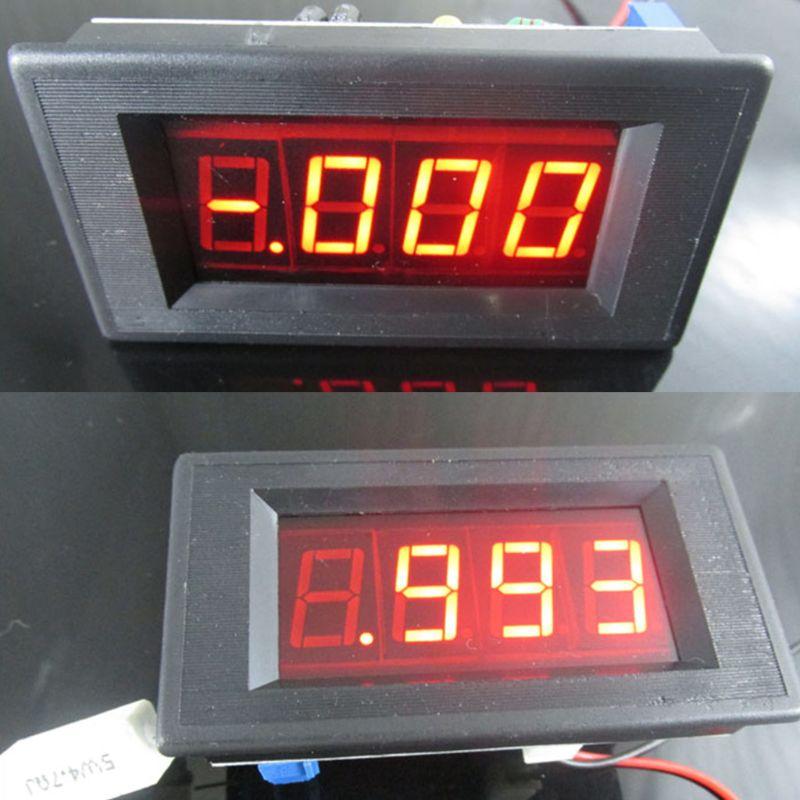 Kit de amperímetro Digital ICL7107, módulo DIY de 5V, 35Ma, 70,6x39mm, DIY, medidor de corriente de amperios 35ED