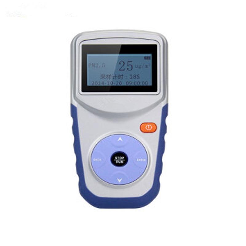 Novo original analisador de gás detector de poeira qualidade do ar medidor de teste de único canal portátil pm2.5 poeira monitor de gás tester