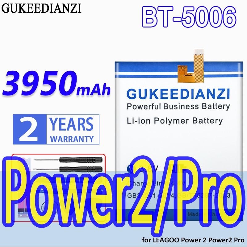 GUKEEDIANZI-Batería de alta capacidad, BT-5006, 3950mAh, para LEAGOO Power 2, Power2 Pro