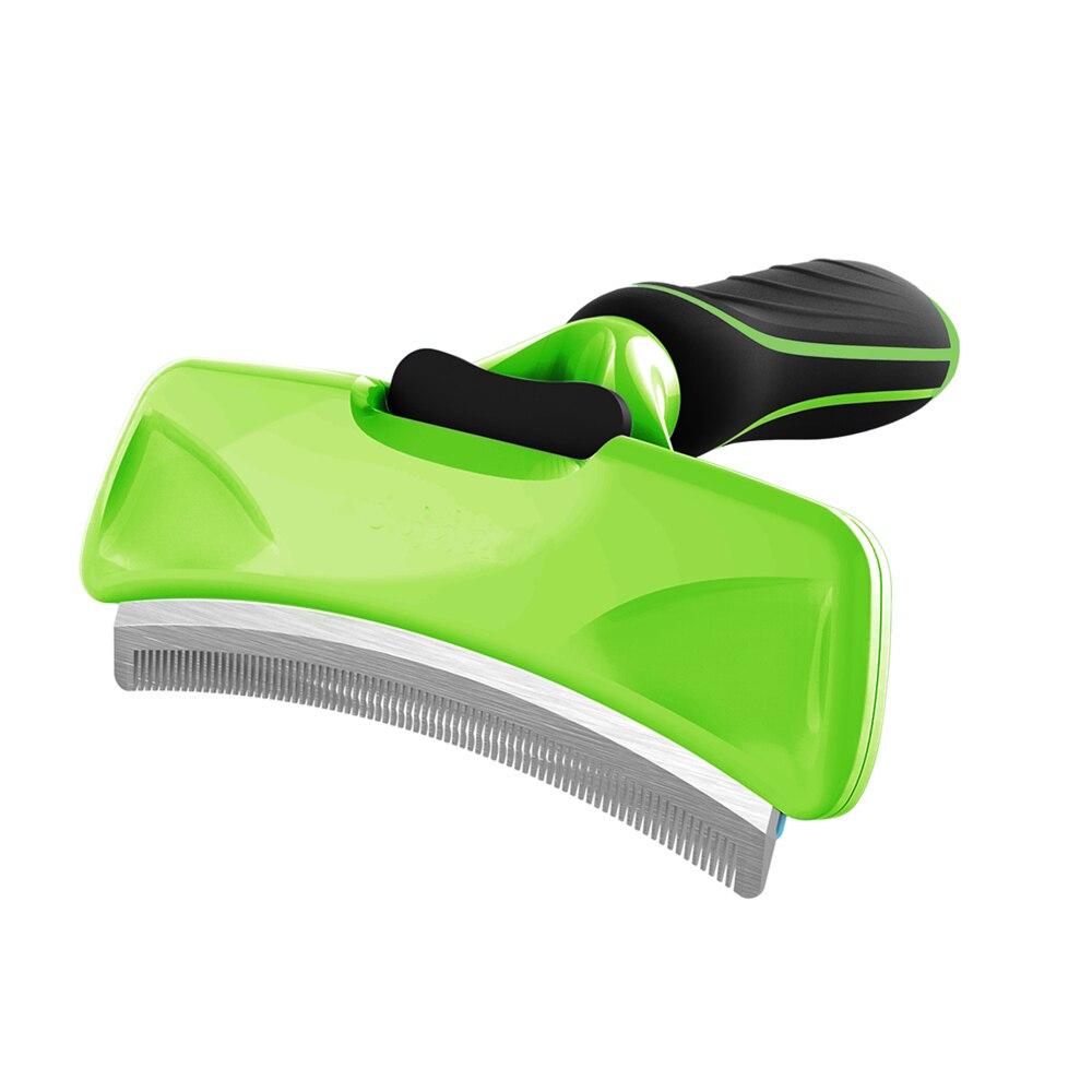 Cepillo para eliminar el pelo de mascotas peines cepillo de perro gato herramientas de aseo suministro de mascotas accesorio recortadora desmontable accesorio para mascotas