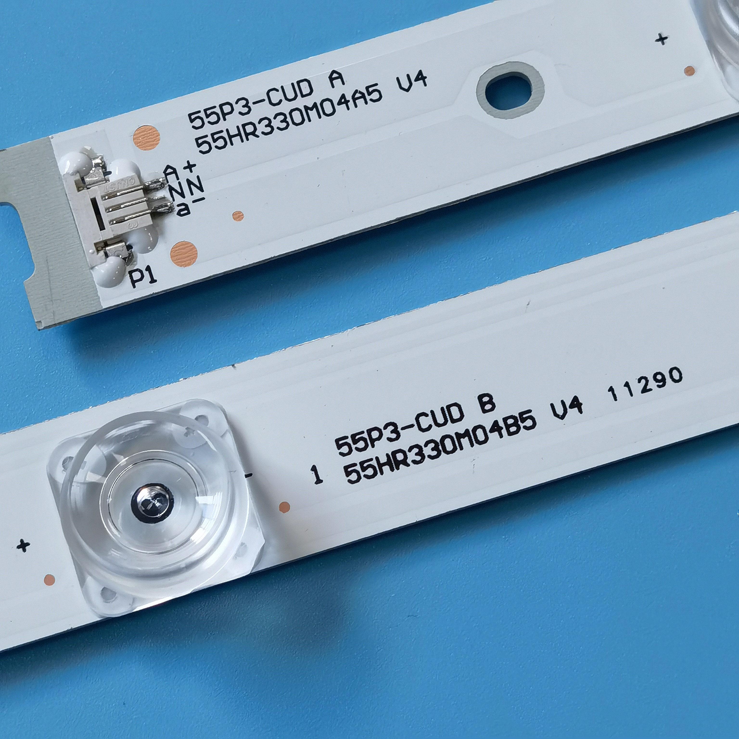 20SET=180PCS led backlight for TCL 55A950C 55A880C 55N3 55P3F 55P3-CUD 55HR330M04A5 4C-LB5504-HR15J 4C-LB5504-HR16 enlarge