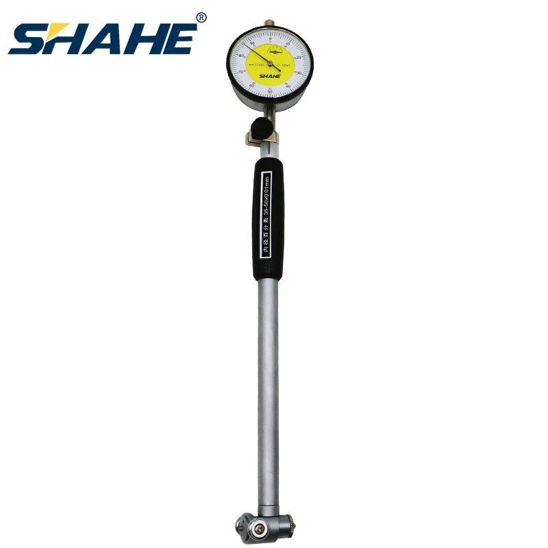 Calibrador de calibre de diámetro del agujero del indicador de Dial de 50-160mm y 0,01mm de SHAHE