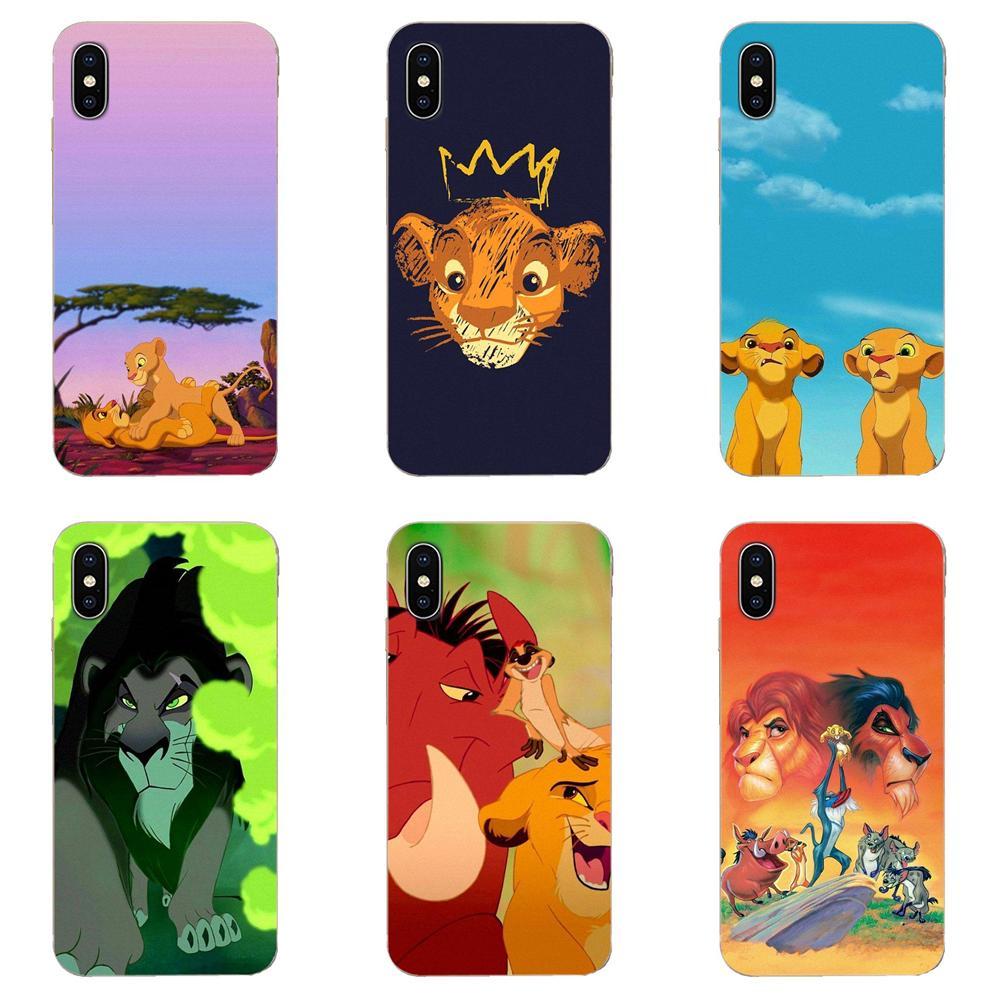 Cartoon Movie Lion King For Samsung Galaxy A10 A20 A20E A3 A40 A5 A50 A7 J1 J3 J4 J5 J6 J7 2016 2017 2018 Silicone Shell Cover