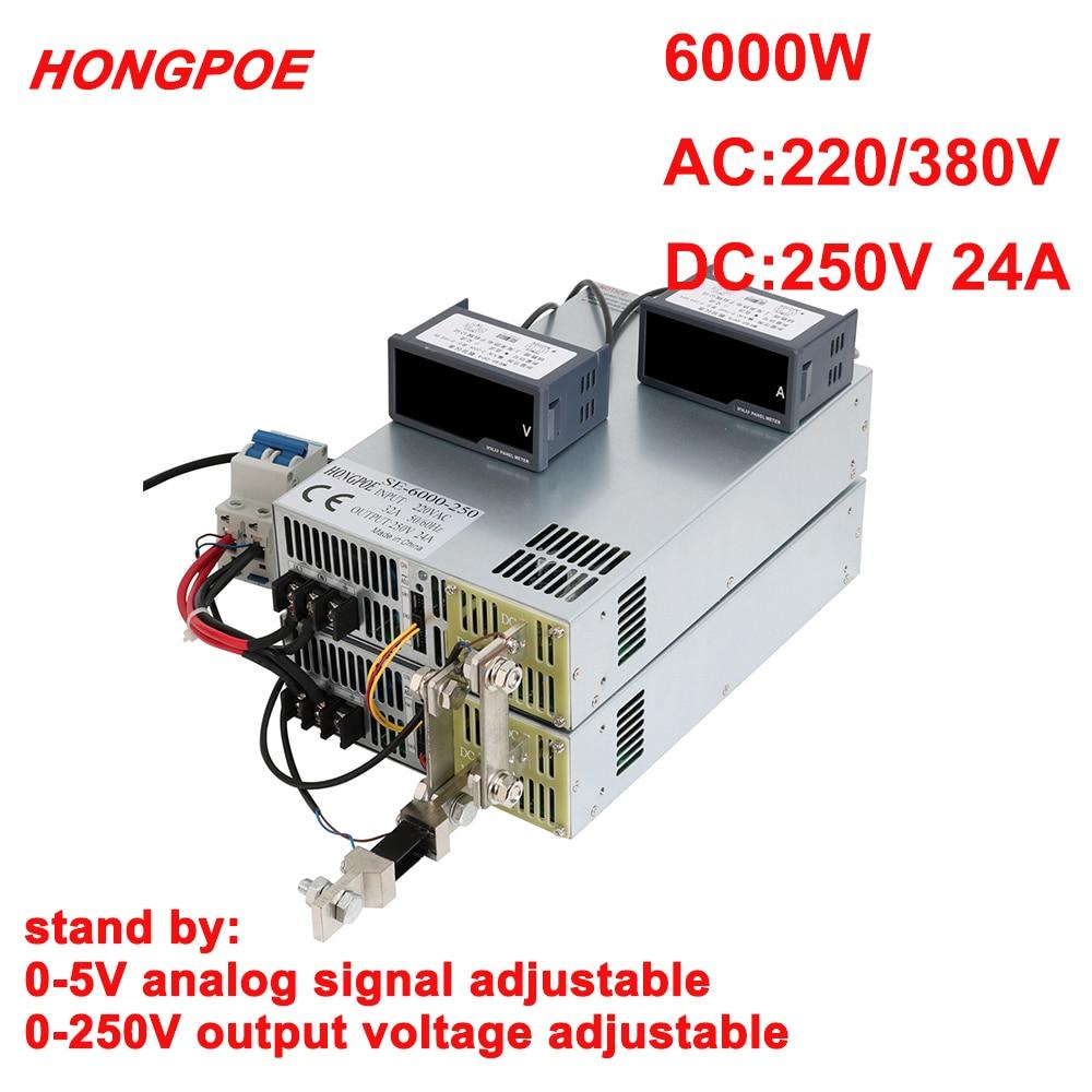 fonte de alimentacao 250v 0 250v potencia ajustavel 0 5v controle de sinal analogico