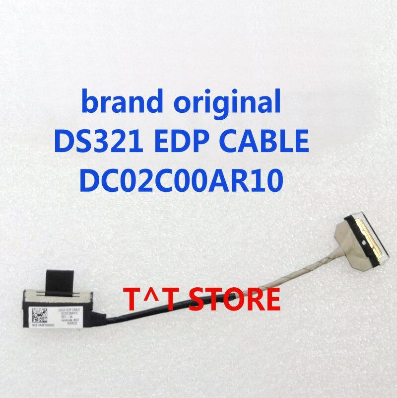 كابل موصل مرن أصلي لشاشة LCD LVDS الأصلية, كابل توصيل FFC DS321 EDP ، اختبار DC02C00AR10 ، شحن مجاني