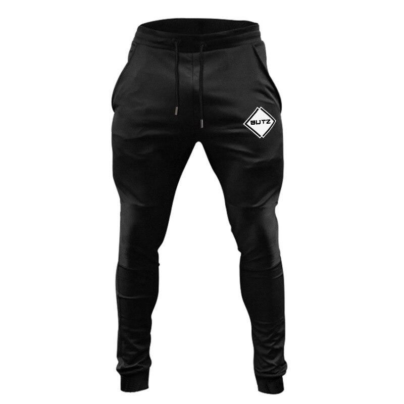 Штаны для бега в тренажерном зале, мужские тренировочные спортивные штаны для фитнеса, джоггеры, облегающие футбольные тренировочные штаны...