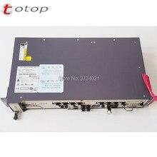 Huawei 8 ports pon OLT MA5608T + 1 * carte de commande MCUD 1G + 1 * carte dalimentation MPWC/MPWD + 1 * carte de service GPBD C +, livraison gratuite