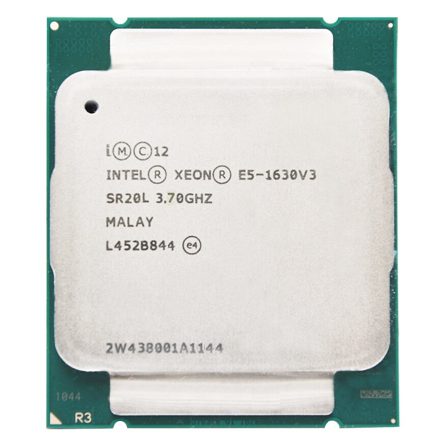 Intel Xeon CPU E5-1630V3 E5-1630 V3 E5 1630 V3 de 3,70 GHz de 4 núcleos 10M LGA2011-3 procesador E5 1630V3 adecuado x99
