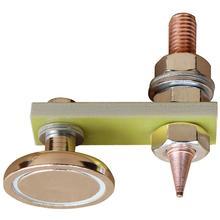 Cabezal magnético metalúrgico, abrazadera de tierra magnética, placa de Metal, soporte de soldadura, accesorios para herramientas