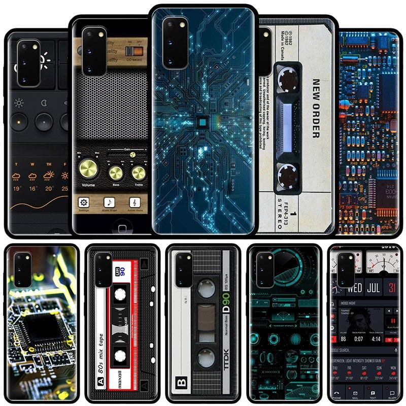 Vintage Retro Cámara caso de Cassette para Xiaomi Mi nota 10 Pro 5G 9T 9 SE 8 A2 Lite CC9 Poco X2 F2 X3 NFC de Tampa teléfono Coque