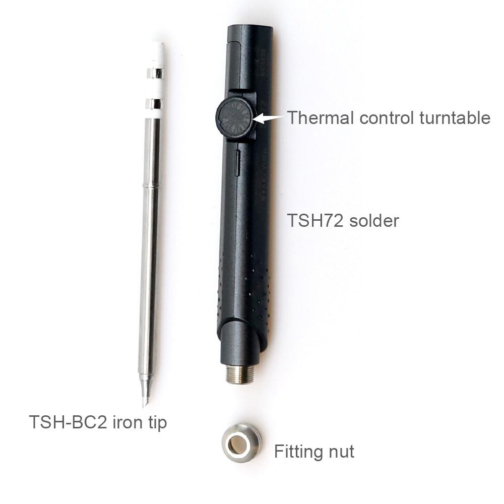 Nastavitelná páječka 65W 12-24V 220-400 stupňů - Svářecí technika - Fotografie 5
