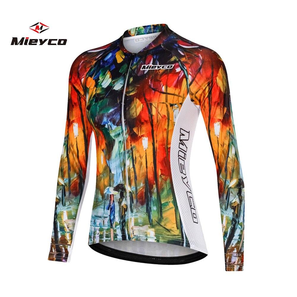 Pro feminino camisa de ciclismo outono mtb bicicleta wear roupas manga longa das mulheres ciclismo roupas ropa de ciclismo jérsei