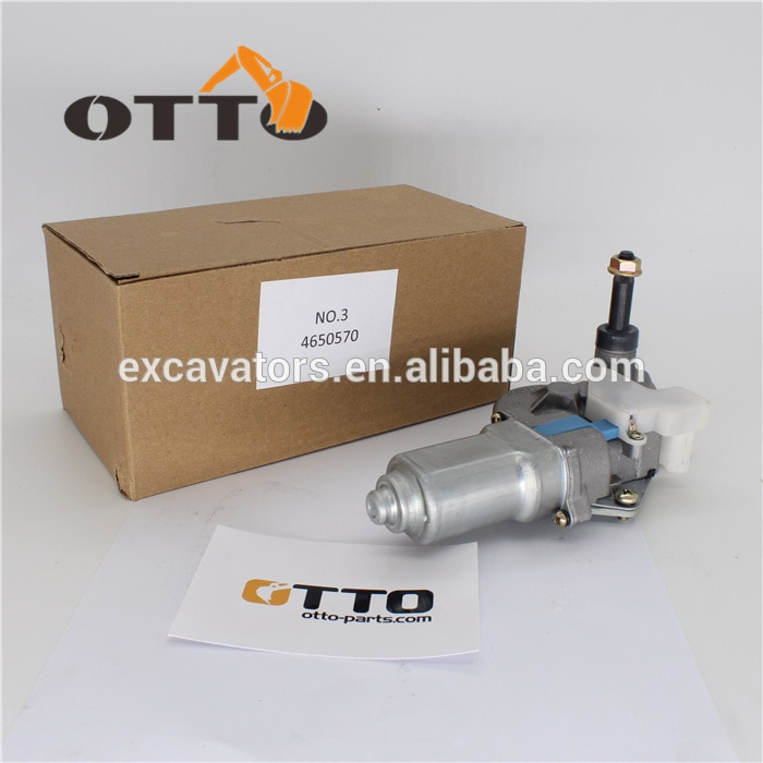 Fast Delivery Wiper motor 4650570 for excavator ZX225USR-3 ZX240-3 ZX330-3 ZX270-3 ZX450-3 ZX240LC-3 ZX250LC-3 ZX200-3 ZX120-3