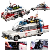 in stock ghostbusters ecto 1 10274 building blocks brick toys building block toy christmas gift