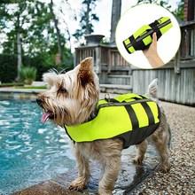 Chien gilet de sauvetage été gilet de sauvetage pour animaux de compagnie chien vêtements de sécurité chiens maillots de bain animaux de compagnie sécurité natation costume chiens veste vêtements pour animaux de compagnie