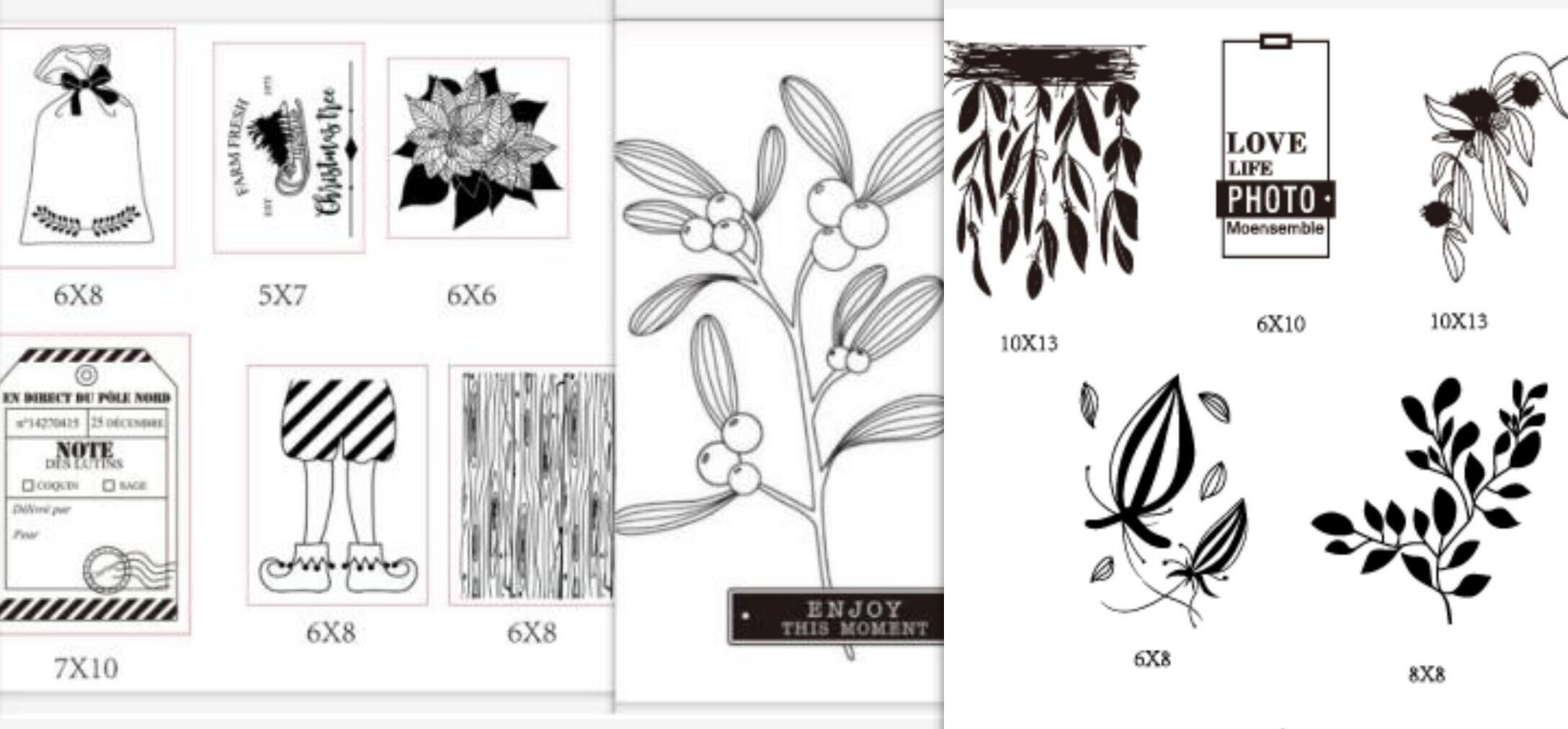 Французский прозрачный силиконовый штамп/печать для DIY скрапбукинга/фотоальбома декоративный прозрачный штамп A3115