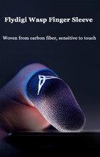Flydigi guêpe doigt manchon anti-transpiration doigt couverture téléphone portable tablette PUBG jeu écran tactile pouce