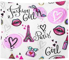 Écusson abstrait pour jeunes filles   Tapisserie de Paris, décoration murale suspendue pour salon chambre dortoir 50x60