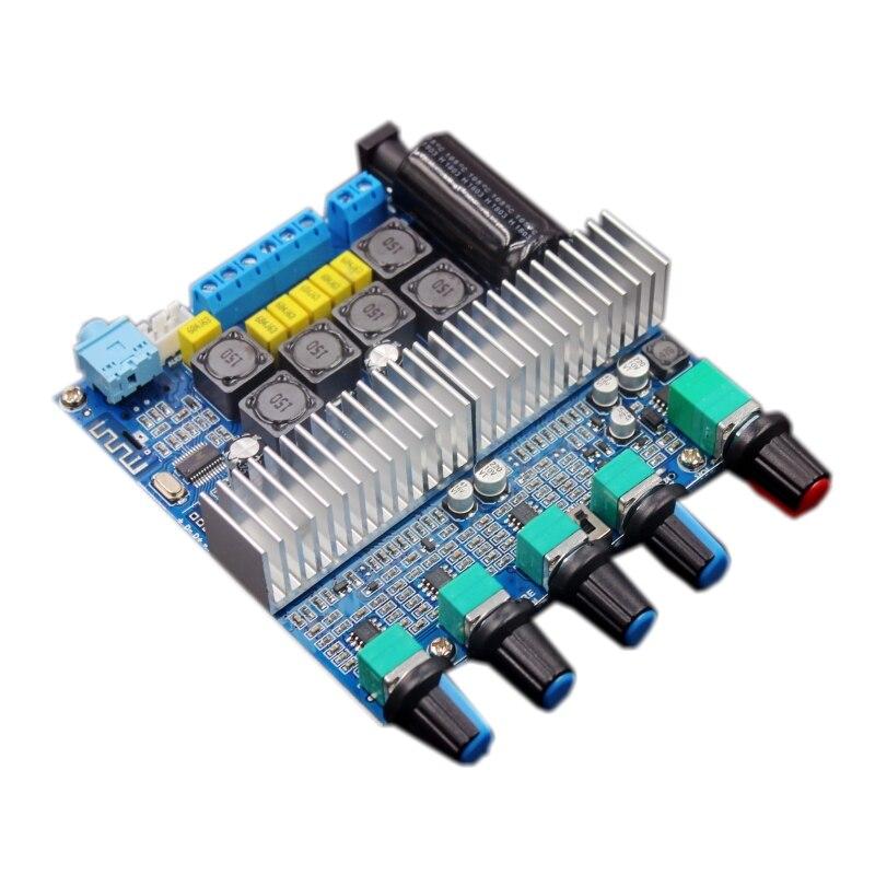 Плата усилителя сабвуфера TPA3116D2, Bluetooth 5,0, 2,1 каналов, Плата усилителя высокой мощности, 2*50 Вт + 100 Вт