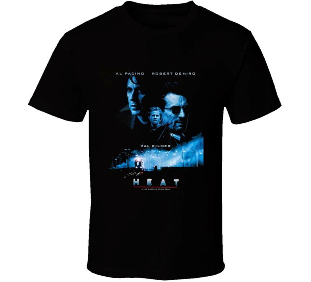 Heat De Niro Pachino Gangster Movie T Shirt Mens Tee Gift New From Us Hot Summer Casual Tee Shirt
