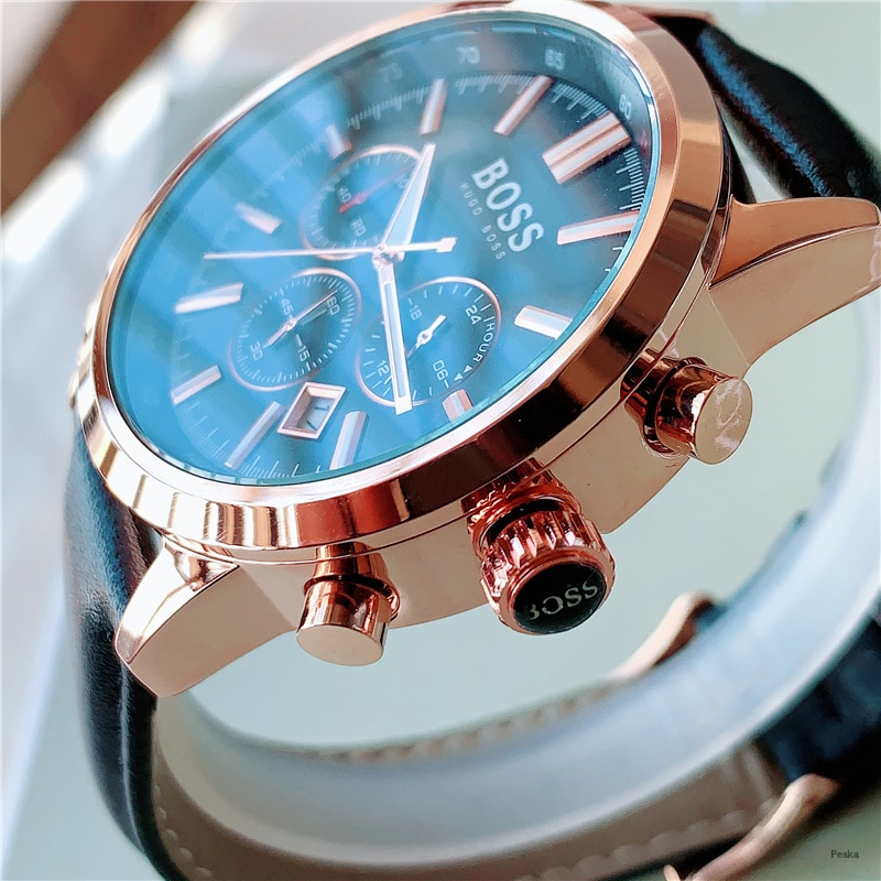 2021 new men's Quartz full function high grade wristwatch business wristwatch waterproof wristwatch