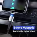 Ugreen Magnetic Type C Cable 3A Fast Micro USB Charging Data Cable for Samsung Xiaomi Magnet USB C Charger Mobile Phone USB Cord