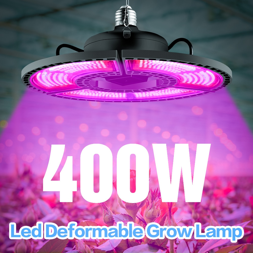 grow tent box for indoor hydroponics greenhouse plant lighting tents 60 80 100 cm growing tent 400W E27 LED Full Spectrum Growing Bulbs Plant Grow Light Lamp UV IR Hydro For Flower Seeds Veg Indoor Greenhouse Grow Tent box