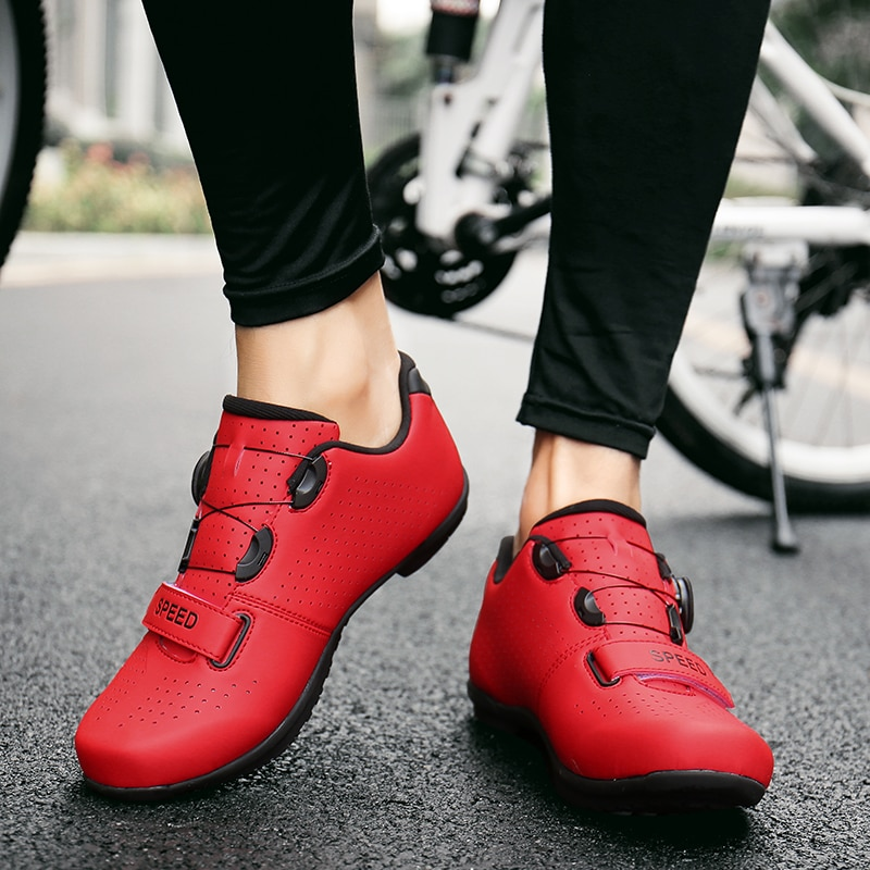 Road Cycling Shoes sapatilha ciclismo MTB Outdoor Athletic Racing Mountain Bike Non-locking Bicycle pedals Women sneakers Men