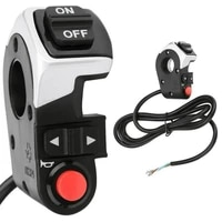 3 in 1 headlight light switch horn front lights turn switch button for electric bike e bike mtb scooter shockproof