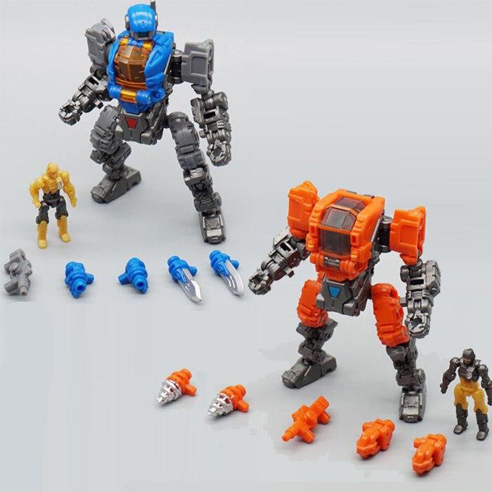 Transformation Angetrieben-anzug Diaclone Verloren Planeten Mech Cosmic DIAKRON MFT DA21 & DA22 DA-21 & DA-22 Action Figur Roboter spielzeug