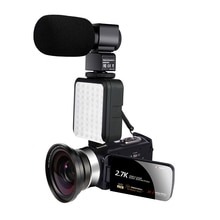 KOMERY Digital Video Camcorder Affordable Handycam 30MP Touch Screen 16 x Digital Zoom Video Recorde