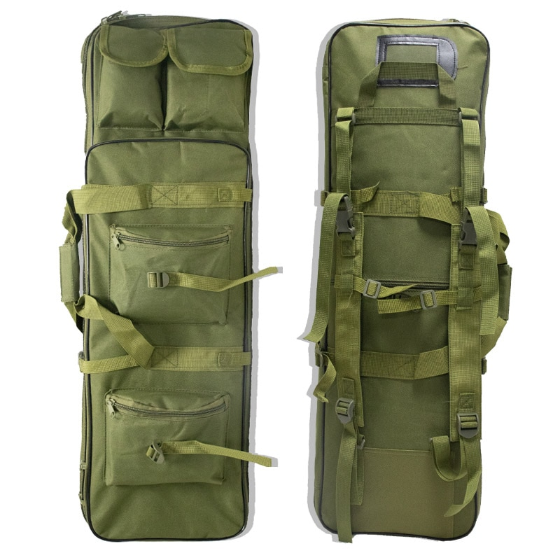 Tactical Molle Gun Bag Airsoft Holster Hunting Sniper Rifle Carry Protection Case Army Gear Shooting