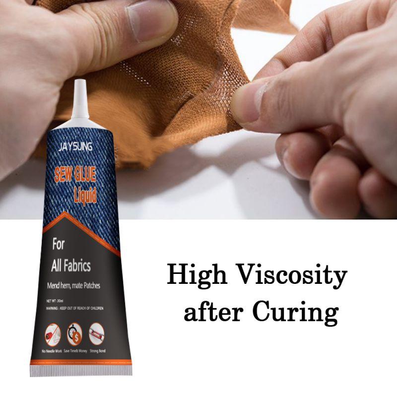 30 мл пластыри инструмент DIY быстро сохнет сильный шить ремонт стежка быстро склеивание значки домашний Клей украшения ткань клей *