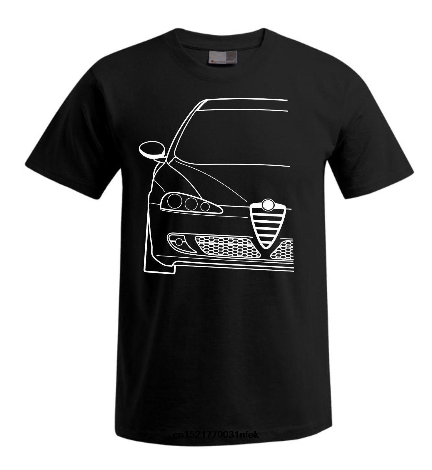 Men T shirt Alfa Romeo 147 s Casual Cotton Loose funny t-shirt novelty tshirt women
