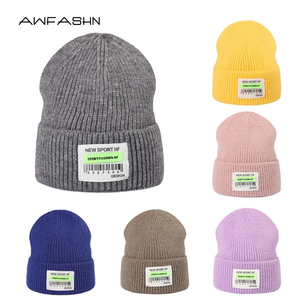 Новинка 2021, зимняя шапка, вязаная шапка унисекс, модная женская шапка, шапка с черепом, облегающая шапка для мужчин, оптовая продажа