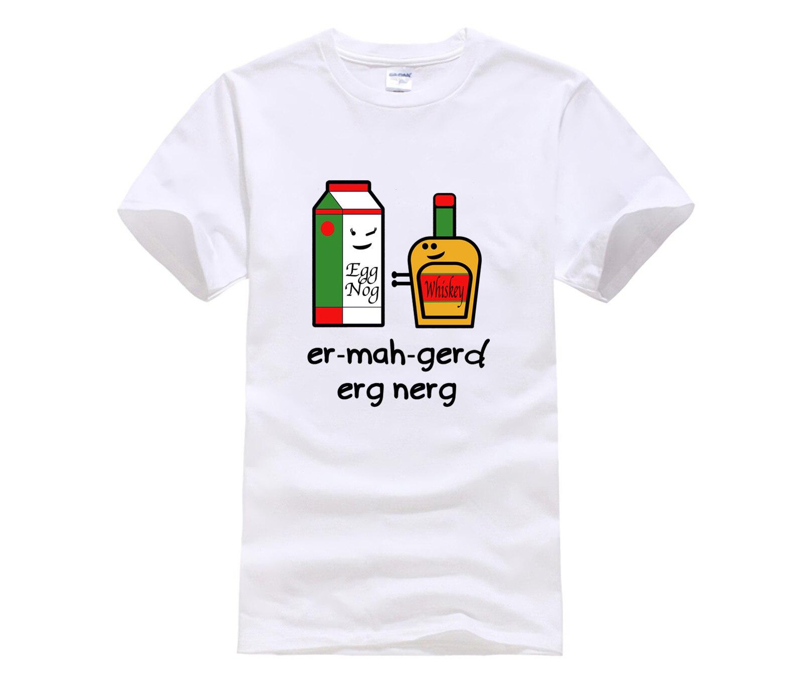 La moda más caliente camiseta impresa en el mundo er mah gerd erg nerg