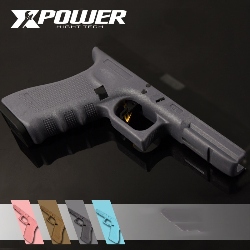 XPOWER Grip For GBB Pistol Generation3 GLOCK17 Gel Blaster Nylon Airsoft Paintball Accessories Hardened Outdoor Game Wargame