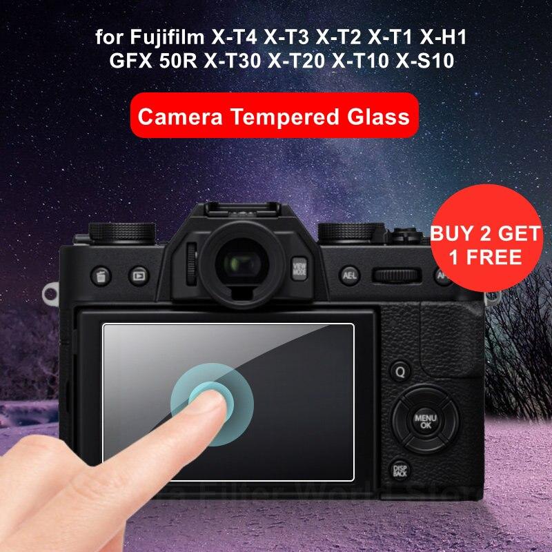 Fuji  XT4 XT3 XT30 XS10 Camera Tempered Glass Screen Protector for Fujifilm X-T4 X-T3 X-T2 X-T1 X-H1 X-T30 X-T20 X-T10 X-S10
