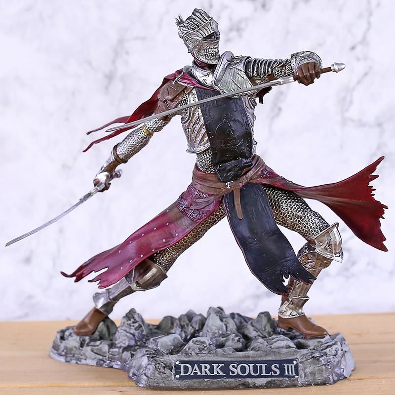 Dark Souls III-figura de coleccionista, estatua de caballero rojo, modelo de juguete en PVC