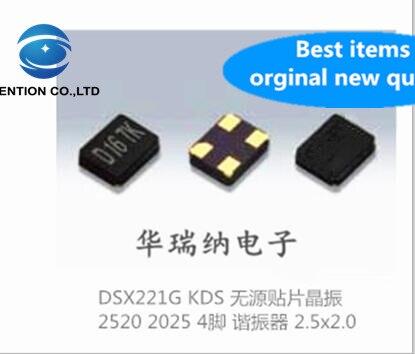 100% original nuevo DSX221G KDS importado, oscilador de cristal SMD pasivo 2520 2025 32M 32MHZ 32.000MHZ 10 Uds.