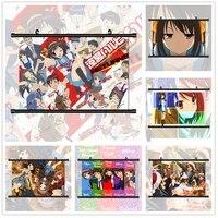 WTQ     affiches de Manga de lanime Haruhi  decoration murale  Art mural  decoration de salle