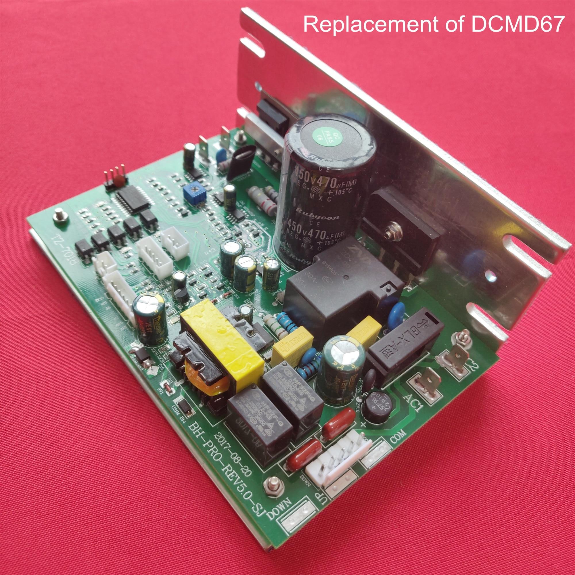 Замена беговой дорожки контроллер двигателя для DK городской беговой дорожки NB702028 совместим с DCMD67 печатной платы